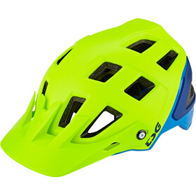 TSG Scope Graphic Design Helmet Men acid yellow-blue